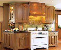 Brown And White Kitchen Cabinets Kitchen Interesting Kitchen Design With Traditional White