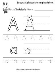 letter a worksheets kindergarten worksheets