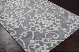 Off White Area Rugs by Surya Cosmopolitan Cos 8828 Silver Gray White Area Rug