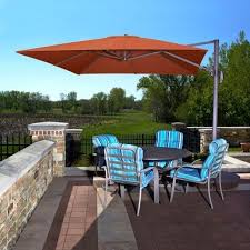Overhang Patio Umbrella Stunning Overhang Patio Umbrella Photo Patio Ideas