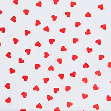 heart wrapping paper tissue paper sheets 20 x 30 hearts s 13247 uline