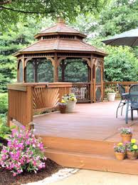 Deck Designs Pictures by Deck Designs This Backyard Deck Design Includes