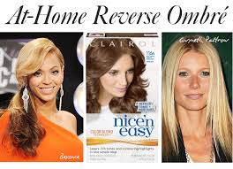 reverse ombre hair photos how to diy reverse ombré hair color it s easy promise stylecaster