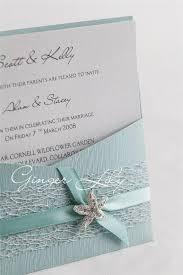 beachy wedding invitations wedding invitation diy kit reef moonstone pocket invite