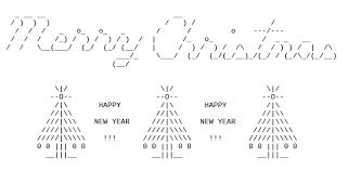 trees in ascii text ascii