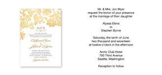 wedding invitations format wedding invitations exles wedding invitations exles by means
