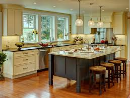 Rustic Cabinets Kitchen Sink Lighting Trends Including Farmhouse Fixtures Pictures