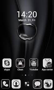 apple apk bright black apple zero launcher 1 0 3 apk