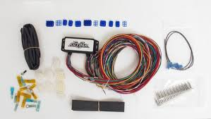 plus complete electronic wiring system small for harley davidson