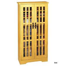 Oak Cd Storage Cabinet Cd Storage Cabinet With Doors Media Storage For Furniture Allegro