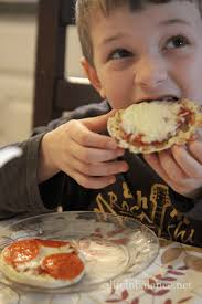 Toaster Oven Muffins Cooking With Kids English Muffin Pizza