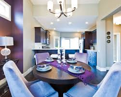 Purple Dining Room Houzz - Purple dining room