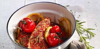 cuisine provencale recette blancs de poulet rôtis à la provençale facile et pas cher