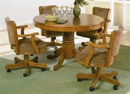 Kitchen Table And Chair Sets Costco Round Tables Costco Dining - Dining room chairs with rollers