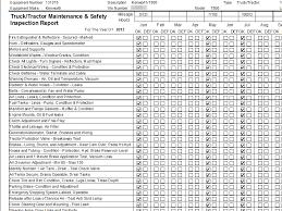 Maintenance Tracking Spreadsheet by 90 Day Inspection Details Tatems Fleet Maintenance Software