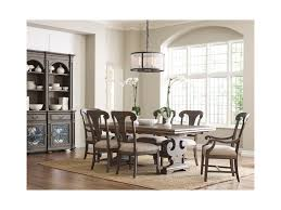 kincaid furniture greyson crawford refectory dining table with