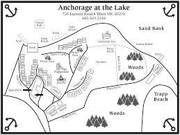 Property Line Map New Hampshire Cabin Rentals Near Lake Winnipesaukee Anchorage