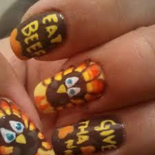 33 gel nail designs thanksgiving nails in pics