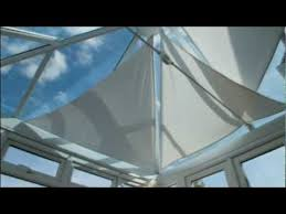 Make Your Own Roller Blinds How To Make Your Own Conservatory Roof Blinds Youtube