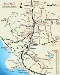 Paso Robles Map San Luis Obispo Map My Blog