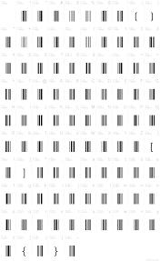 bar code 39 font