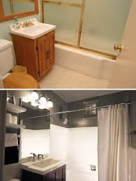 Bathroom Remodels Before And After Pictures by A Small Bathroom Makeover Before And After