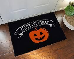 2 u0027 x 3 u0027 trick or treat halloween doormat floormatshop com