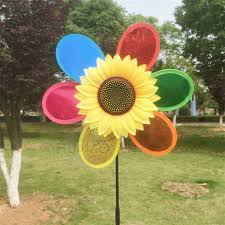 garden decor wind spinners home design and decorating