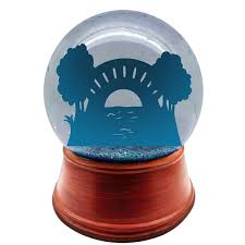 non living personalized snow globe uscustomsnowglobes