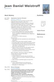 country manager resume samples visualcv resume samples database