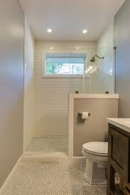 idea for bathroom half wall shower ideas shock bathroom glass home design 28