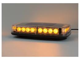 warning light bar amber dsi automotive e1 series 12 led mini light bar warning light