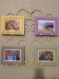 diy home decor painted picture frame wall hanging youtube