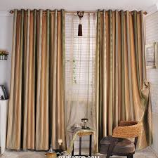 Drape Length Curtains Green And White Striped Curtains Inspiration Whote