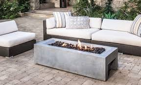 Real Flame Fire Pit - coffee table real flame monaco 55 in fiber concret rectangle