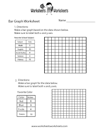making bar graph worksheet free printable educational worksheet