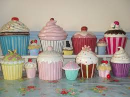 cupcake canisters for kitchen 604 best cookie jars images on cupcake cookie jar