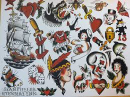 new traditional tattoo flash art pictures to pin on pinterest