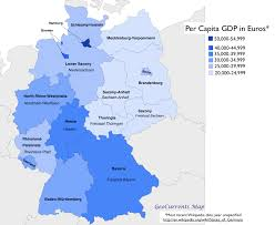 Bavaria Germany Map by Geographical Patterns In The German Federal Election Of 2013