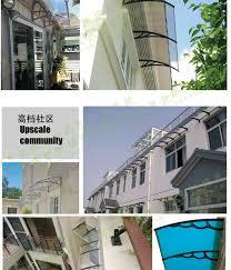 Polycarbonate Window Awnings Outdoor Door Window Polycarbonate Awning Buy Solid Polycarbonate