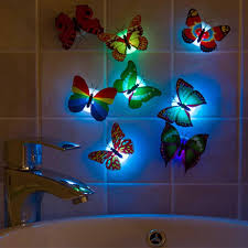 Led Lights For Home Decoration Colorful Artificial Butterfly Led Light Home Decoration