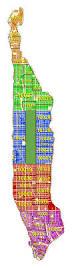 New York Zip Code Map Manhattan by All Manhattan Zip Vertical Dotted Yellow Green Png