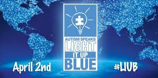autism speaks light it up blue light it up blue lightitupblue twitter