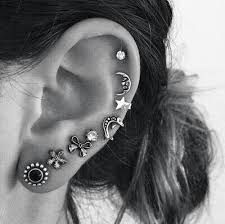 earrings that go up the ear 8 ways to open again your partially closed ear piercing