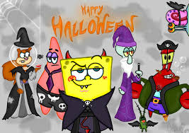 happy halloween wallpaper spongebob halloween wallpaper wallpapersafari
