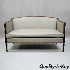 Loveseat Settee Sheraton Antique Sofas U0026 Chaises Ebay