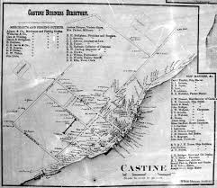 Fort Stevens State Park Map by Fitz Henry Lane Castine From Wasson U0027s Hill Brooskville Maine