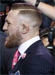 conor mcgregor hair conor mcgregor fuck you suit pinstripe suit pinstriping and