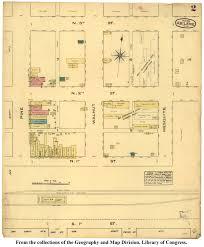 Amarillo Texas Map Sanborn Maps Of Texas Perry Castañeda Map Collection Ut