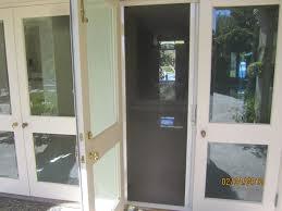 exterior design cool sliding retractable screen doors for home